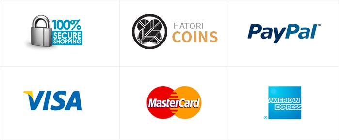 Hatori Shop Payment Methods